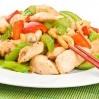 Cashew-Honey Chicken Salad