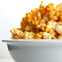 Peppery Cheese Popcorn